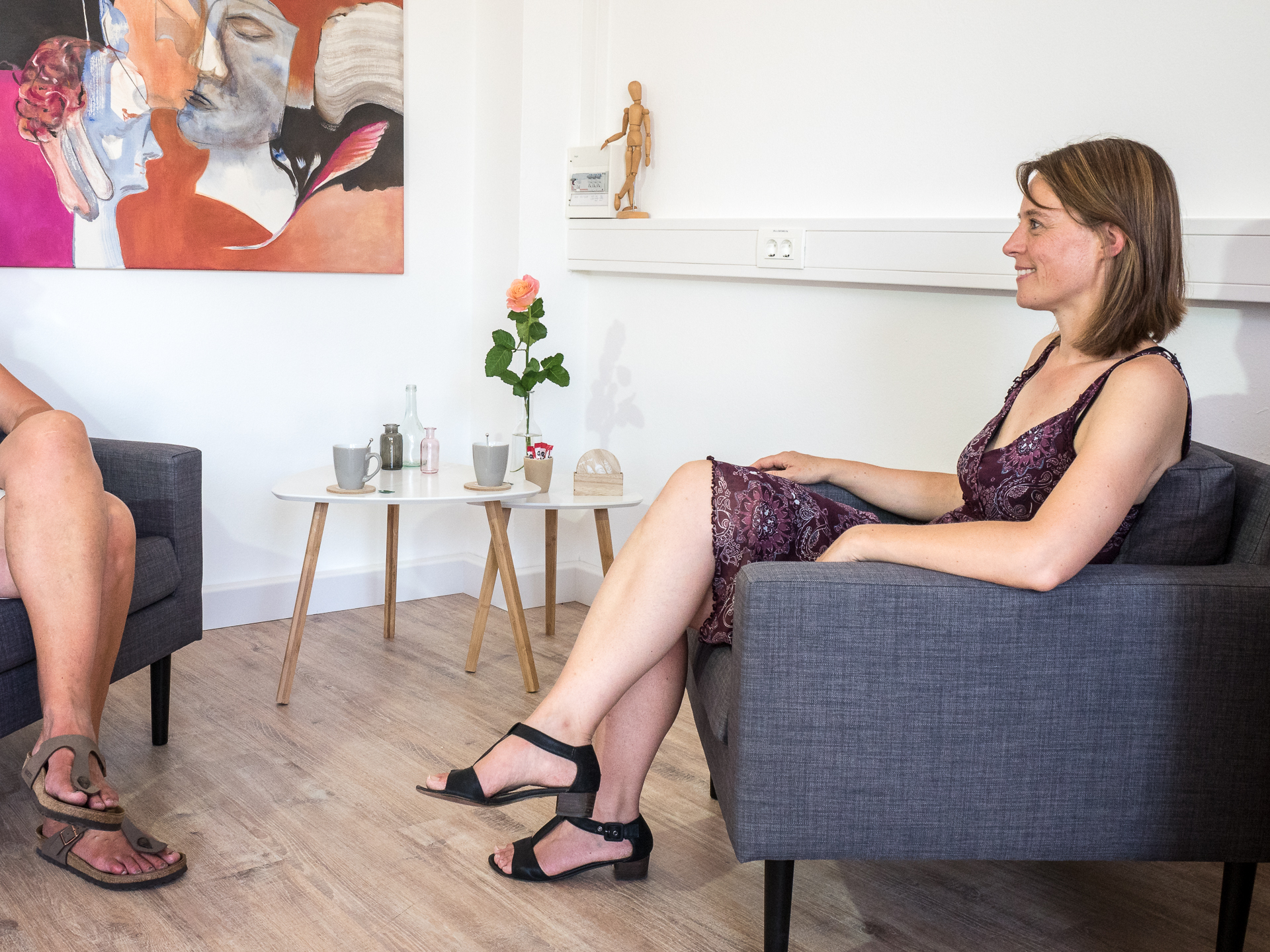 Annette Pöpping - Einzelsitzung - kunsttherapeutische Beratung