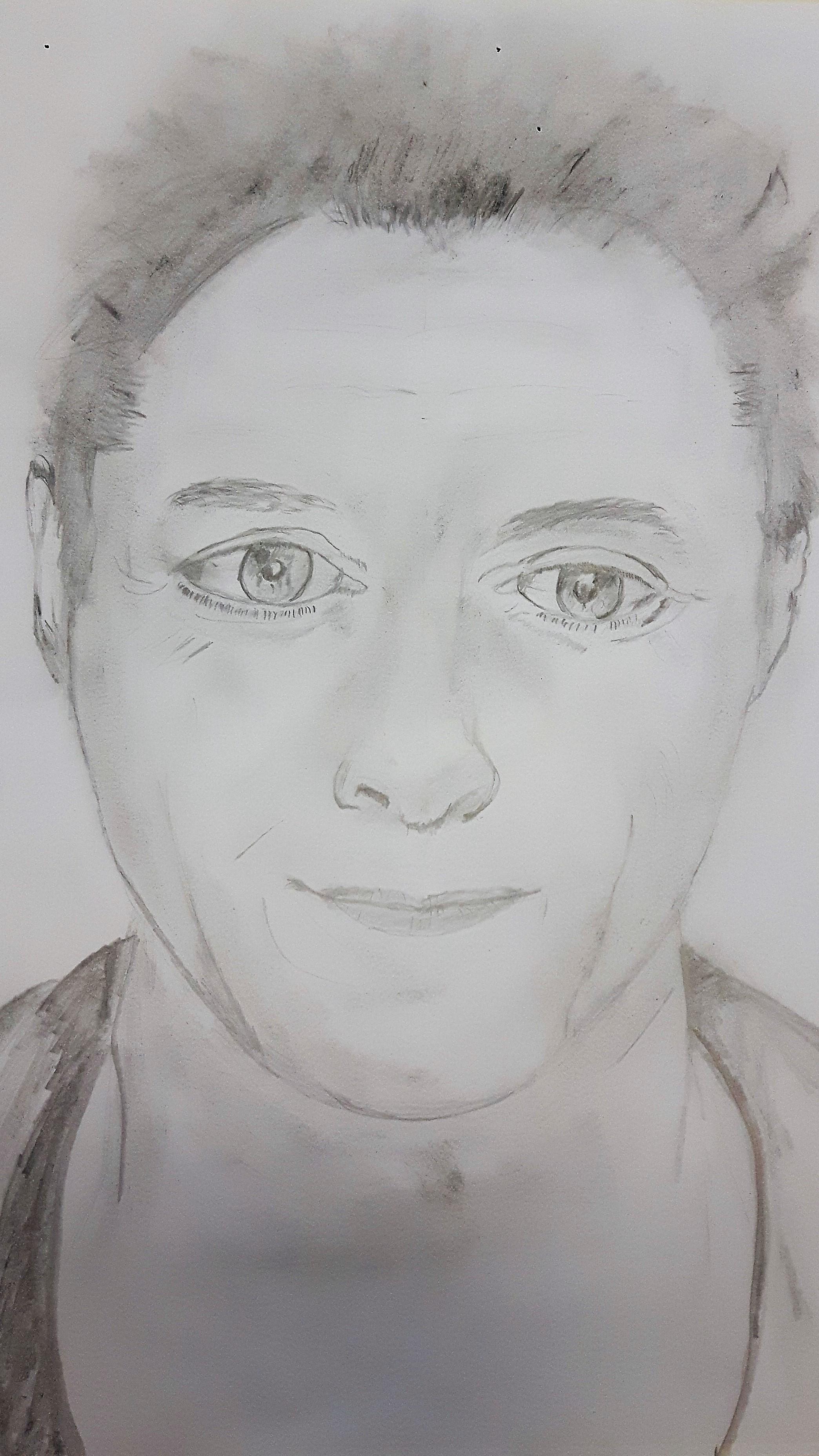 Brigitte Rogoll Bleistiftzeichnung WS Lust auf Portrait?!